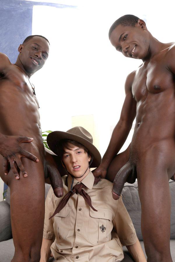 negros trio penes