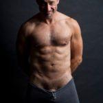 El actor y escritor David Pevsner al desnudo
