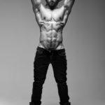 Belleza masculina David Ramirez caliente sensual
