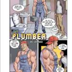 El fontanero me peta el culo su herramienta de trabajo