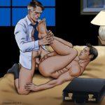 Sexo anal con mi jefe en el hotel