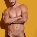 El guapo Quinn Jaxon hetero sexy pollón