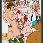 Feliz Navidad!!! Papá noel y sus renos en una orgía